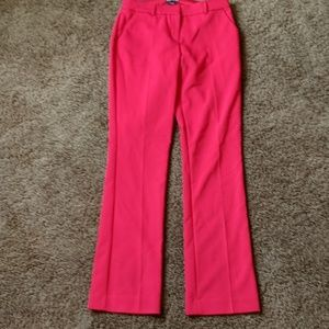 Like NEW Express Columnist pant in deep red!